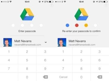 วิธีตั้งค่าเสริมความปลอดภัยให้แอพ Google Drive ด้วยการตั้งรหัส Passcode