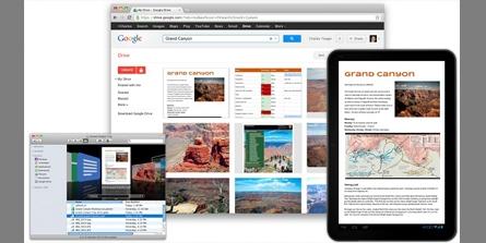 Google Drive บริการโดยกูเกิลให้พื้นที่ 15 GB ฟรีๆ