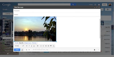 GOOGLE ปล่อยมุกใหม่ล่าสุด … ใส่รูปจาก G+ PHOTOS ลง GMAIL ได้โดยตรง