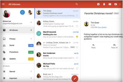 สาวก Android เฮ้ Gmail เพิ่มแท็ป Inbox ให้แล้ว