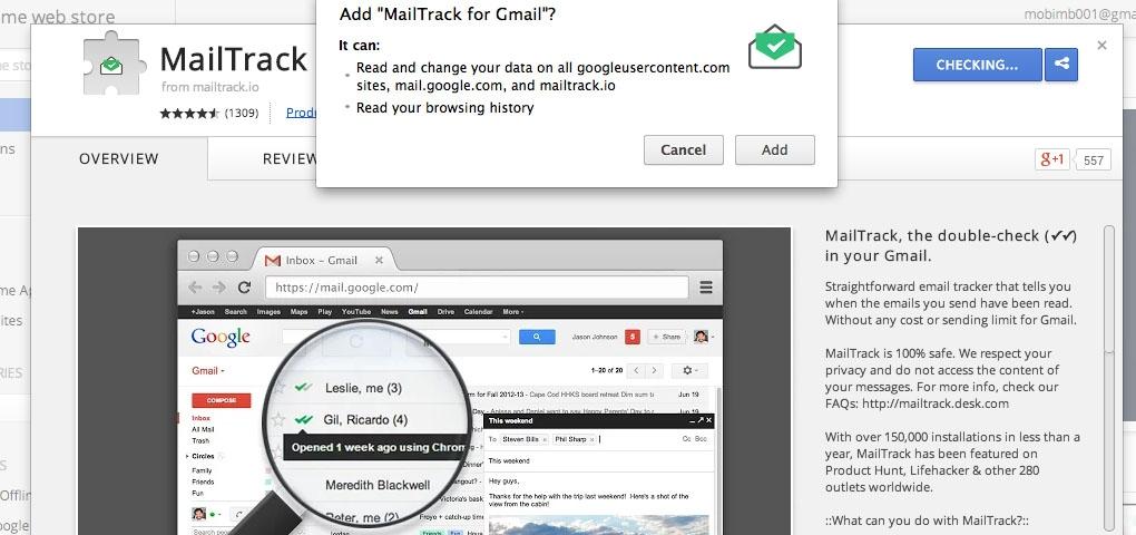 Gmail : วิธี Track อีเมลว่าผู้รับอ่านรึไหม?