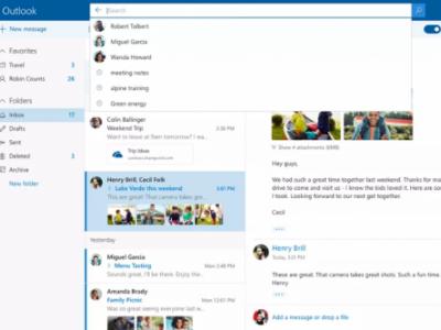 Outlook เปลี่ยนโฉมใหม่ ปรับการค้นหาให้ดีขึ้น มี GIFs ให้ใส่ในอีเมล
