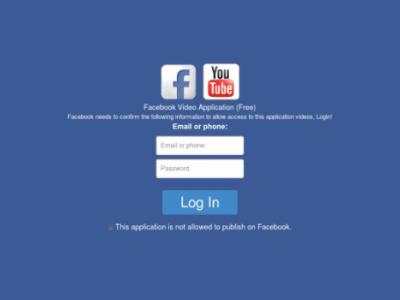 เตือนแคมเปญ Phishing บน Facebook หลอกคลิกลิงค์คล้าย YouTube