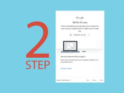 G suite update 2-Step Verification