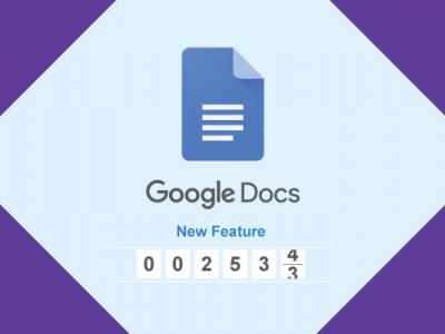 Google Docs เพิ่มฟีเจอร์แสดงจำนวนคำสำหรับผู้ใช้งาน