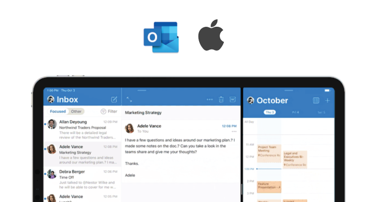 Outlook for iOS ซัพพอร์ตฟีเจอร์ใหม่ที่มากับ iPadOS