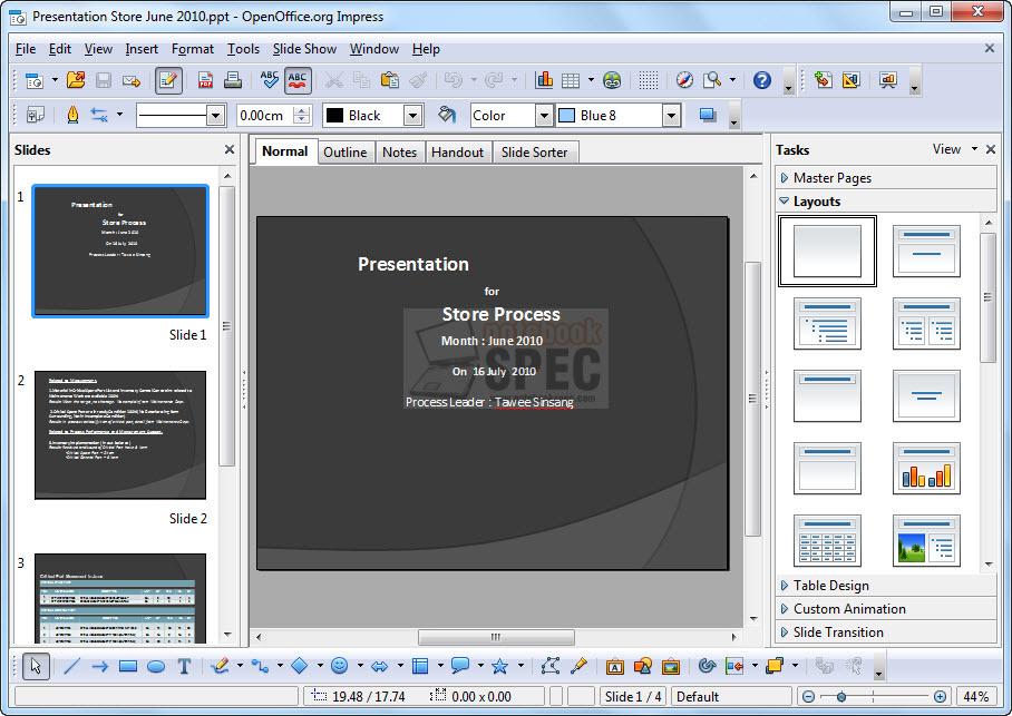 มาใช้ OpenOffice แทน Microsoft Office ได้แบบชิวๆ | Blog