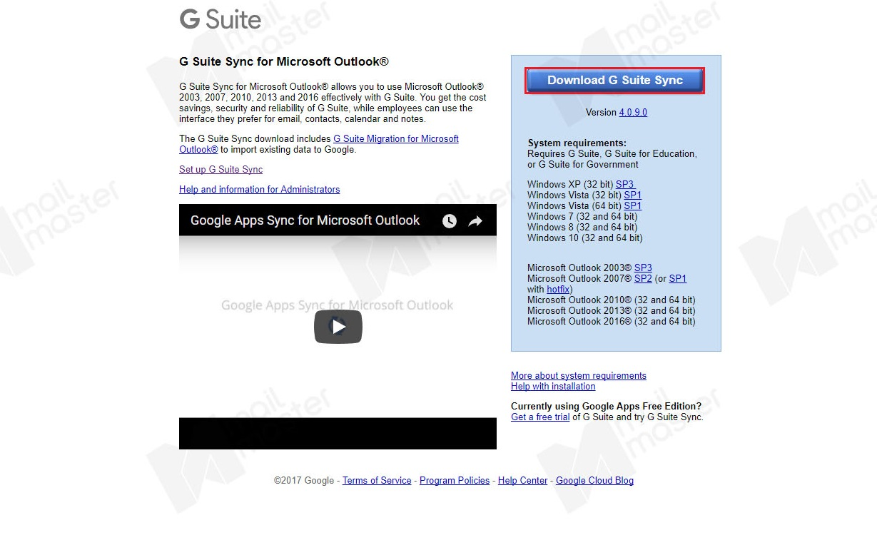 how to add g suite to outlook
